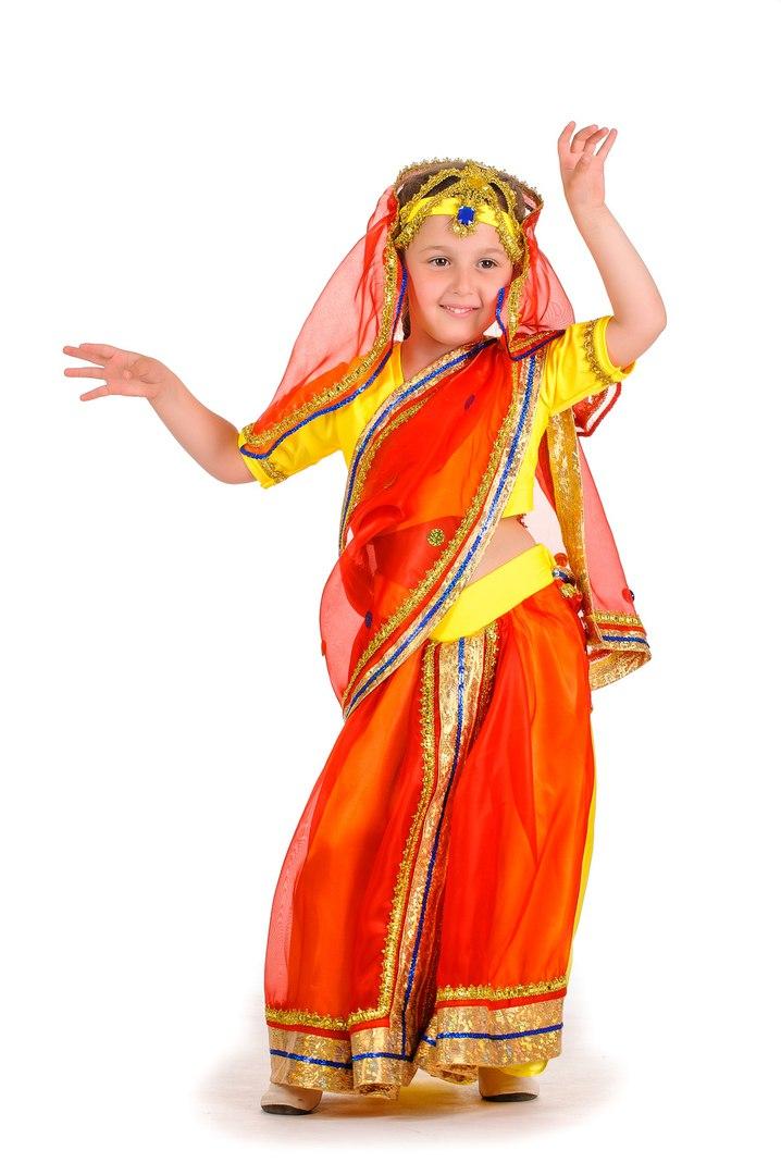 458Детский костюм индианки